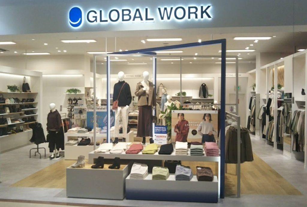 GLOBAL WORK ゆめタウン出雲 RENEWAL OPEN!